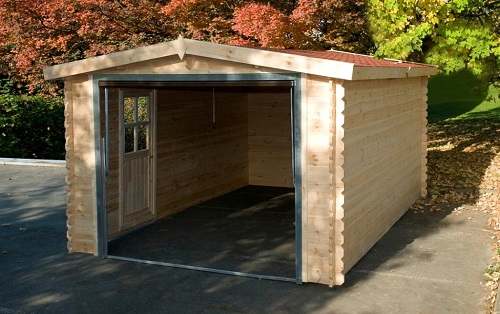 Construction d'un garage en bois (construction ou garage en kit)